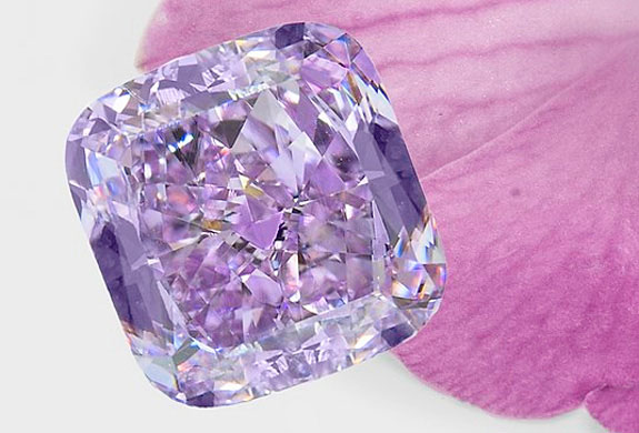 lilac diamonds